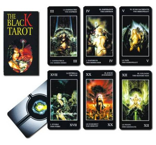 Черно таро - Black Tarot by Luis Royo