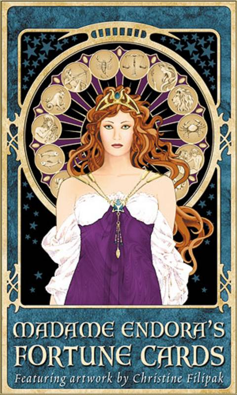 Карти на Мадам Ендора - Madame Endora Fortune Cards by Christine Filipak
