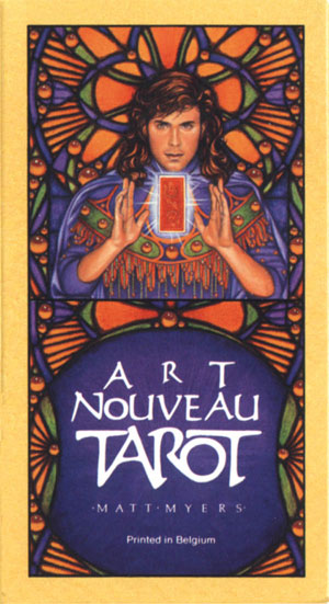 Арт Ново Таро - Art Nouveau Tarot by US Games